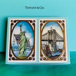 Tiffany & Co. NYC Playing Cards Double Decks